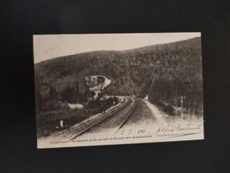 A 3601 - Trois Ponts Le Chemin De Fer Au Delà Du Tunnel Vers Grand Halleux - Trois-Ponts