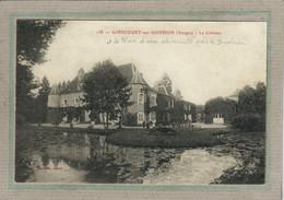 CPA - (88) GIRECOURT-sur-DURBION - Aspect Du Château Ceinturé Par Le Plan D'eau Alimenté Par Le Durbion En 1910 - Sonstige Gemeinden