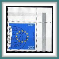 (1791) BRD 1995 Eckrand Oben Rechts O Used/gestempelt (A-2-4) - Gebruikt