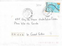 TP N° 3836 Seul Sur Enveloppe De Cannes Hespérides - 1961-....