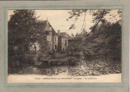 CPA - (88) GIRECOURT-sur-DURBION - Aspect Du Château Ceinturé Par Le Plan D'eau Alimenté Par Le Durbion En 1937 - Sonstige Gemeinden