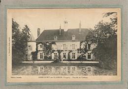 CPA - (88) GIRECOURT-sur-DURBION - Aspect Du Château Ceinturé Par Le Plan D'eau Alimenté Par Le Durbion En 1920 - Sonstige Gemeinden