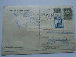 D176265   Romania   Uprated  Postal Stationery  Postcard    30 Bani  - Vedere Din Str. Horea -CLUJ  -  Autobus Bus - Brieven En Documenten