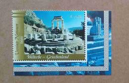Vi04-02 Nations Unies (Vienne) : Patrimoine Mondial - La Grèce Antique / La Tholos De Delphes - Unused Stamps