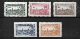 Tunisie  1ère Exposition Régionale Mai 1932 à Tunisavec Gomme Et N* MLH - Unused Stamps