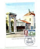 Carte Maximum 1967 Maisons Alfort Ecole Veterinaire - 1960-69