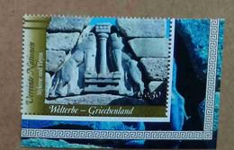Vi04-02 Nations Unies (Vienne) : Patrimoine Mondial - La Grèce Antique / La Porte Des Lions à Mycènes - Unused Stamps