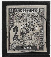 Tahiti Taxe N°2 - Oblitéré - TB - Used Stamps