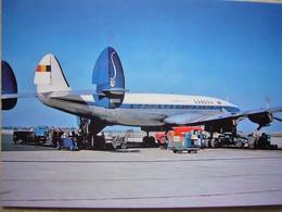 Avion / Airplane / SABENA  / Lockheed L-1049 H Super Constellation - 1946-....: Era Moderna