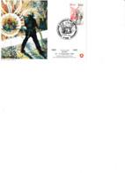 Carte Philatélique 1982 Reims:centenaire Fédération Nationale Des Sapeurs-pompiers Cachet Illustré. Dessin De R.Irolla - Unclassified