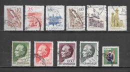 YOUGOSLAVIE  Yvert  N° 854-857-860-1070-1078-1079-1103-1149-1154-1156-1209  Oblitérés - Used Stamps
