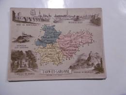 D 82 - Montauban, Bruniquel, Moissac, Caussade, Monclar, Grisolles, Molières, Lavit, Villebrumier, Caylus, Montaigut - Zonder Classificatie