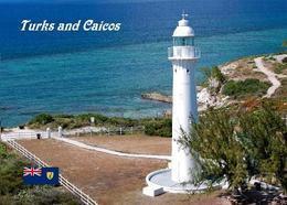 Turks And Caicos Grand Turk Island Lighthouse New Postcard Leuchtturm AK - Turks E Caicos