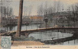 HERMES - Vue De La Passerelle  (carte Toilée) - Sonstige Gemeinden