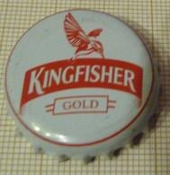 CAPSULE KINGFISHER GOLD BIERE BLONDE INDE - Bière
