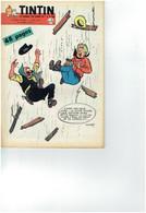 Le Journal De Tintin 598 07.04.1960 Avec Cheque Tintin - Kuifje