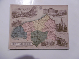 D 76 - Rouen, Le Havre, Dieppe, Etretat, Gournay, Londinières, Blangy, Yvetot, Valmont, Darnetal, Caudebec, Cany,valmont - Altri Comuni
