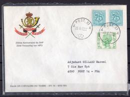 BELGIQUE SMP 1972 - Militares (Sellos M)