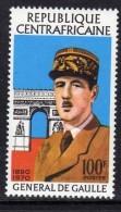 Centrafricaine N °  148   XX :  Anniversaire De La Mort Du Général De Gaulle Sans Charnière TB - Central African Republic