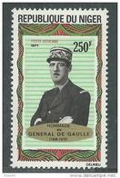 Niger PA  N° 163 XX Hommage Au Général De Gaulle Sans Charnière, TB - Niger (1960-...)