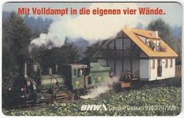 GERMANY O-Serie B-963 - 887 05.93 - Traffic, Steam Locomotive - MINT - O-Series : Series Clientes Excluidos Servicio De Colección