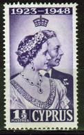 Cyprus Omnibus Single Stamp To Celebrate 1948 Silver Wedding. - Cyprus (...-1960)