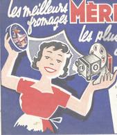 XX // Vintage /  French Old Blotting / SUPERBE !! à Saisir Achat Immédiat @ Buvard Ancien  MERE PICON Disney Cinémagic - F