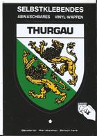 CPSM -- Blason - Autocollant- Suisse - Schweiz - Blason Du Canton De Thurgovie  Thurgau   Kanton - TG Thurgovie
