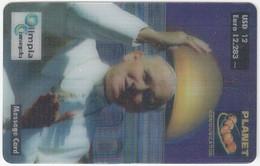ITALY H-991 Prepaid Planet - Religion, Pope John Paul II. - Sample - [2] Tarjetas Móviles, Prepagadas & Recargos