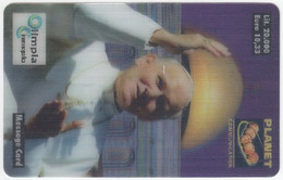 ITALY H-992 Prepaid Planet - Religion, Pope John Paul II. - MINT - [2] Tarjetas Móviles, Prepagadas & Recargos