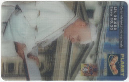 ITALY H-993 Prepaid Planet - Religion, Pope John Paul II. - MINT - [2] Tarjetas Móviles, Prepagadas & Recargos