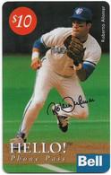 Canada - Bell - Baseball Series, Roberto Alomar, Remote Mem. 10$, 05.1994, Used - Canada