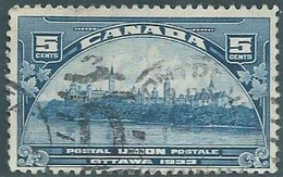 Canada -1933 Universal Postal Union Executive Committee Meeting,5C Used - Gebraucht