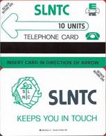 Sierra Leone - SLNTC - Urmet - Definitives - Logo 10 (Mantegazza Issue) 10Units, Mint - Sierra Leone