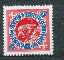 USA Scott # 3505d        2001  The Pan American Inverts 80c  Mint NH  (MNH) - Nuevos