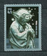 USA Scott # 4205       2007 Star Wars  - Yoda  41c  Mint NH  (MNH) - Nuevos