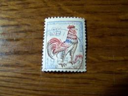 France - 1962 - Coq De DECARIS - N°1331 C - Numéro Vert Au Verso (dos)  630 - Oblitéré - Abarten: 1960-69 Gebraucht