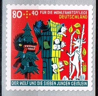 Bund 2020,Michel# 3526 ** Für Die Wohlfahrt: Die Sieben Geißlein, Selbstklebend Von Der Rolle Mit Nr. 10 - Ongebruikt