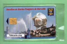 GN471 MARINS POMPIERS DE MARSEILLE *** NSB *** Le Scan Represente La Carte En Vente *** - 5 Unità