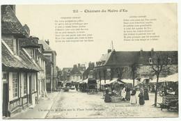 EU 76 Un Coin De La Foire Sur La Place St Jacques - Eu