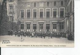 INSTITUT NORMAL LIBRE DE LA MADELEINE    Cour De Recreation - Otros