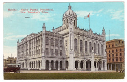 CUBA - HABANA - Nuevo Palatio Presidencial - Cuba