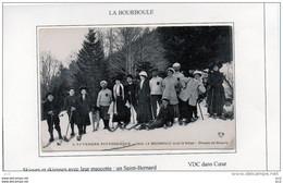 63  - La BOURBOULE - Sports D'hiver Groupe De Skieurs - La Bourboule