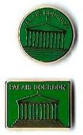 AB - P14 - PALAIS BOURBON - 2 Pin's Différents  - Verso : A.B. PARIS / ARTHUS BERTRAND/PARIS - Arthus Bertrand