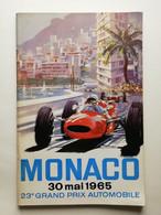FORMULA 1 MONACO 30 MAGGIO 1965 CON DUE AUTOGRAFI PILOTI - Autorennen - F1