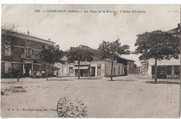 ANNEYRON - La Place De La Mairie - L'Hôtel FILHOL - Altri Comuni