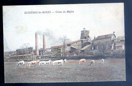 Cpa Du 03 Buxières Les Mines -- Usines Du Méglin DEC19-56 - Andere Gemeenten