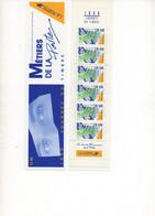 "FRANCE.1990-92. 2 CARNETS NEUFS**.  JOURNEE DU TIMBRE.""SERVICES FINANCIERS"".""L'ACCUEIL"". - Stamp Day"
