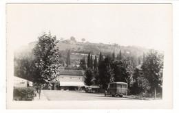 LOT-ET-GARONNE  /  PORT-SAINTE-MARIE  ( En AOÛT 1939 , Autocar Et Automobile Devant Le MODERN-DANCING  /  CARTE-PHOTO - Other Municipalities