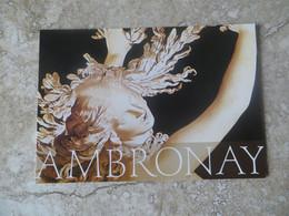 CP 01 Abbaye D' Ambronay - Festival De Musique Classique - Ambronay Bach Et L'Europe - 2000 - Andere Gemeenten